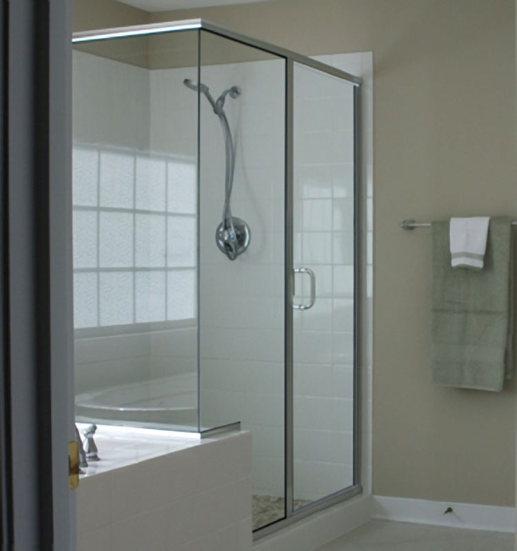 Crystalline Semi Frameless Hinge Shower Doors