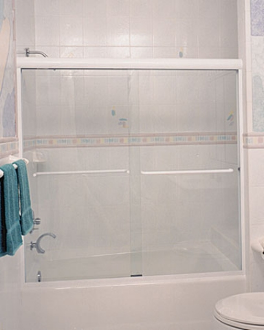 3 Signature Frameless Bypass  Shower Enclosure