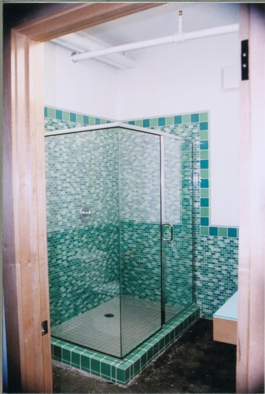 Crystalline Semi Frameless Hinge Shower Doors